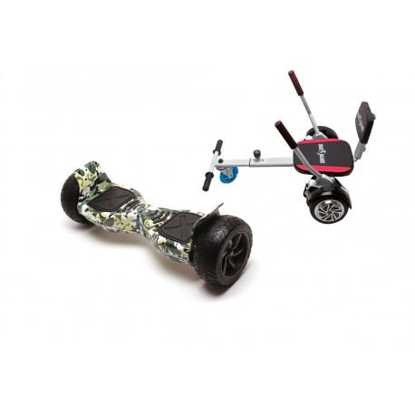 Package Smart Balance™ Hoverboard Hummer Camouflage + Hoverseat with Sponge