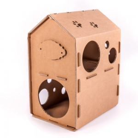 Cardboard Cat House,...
